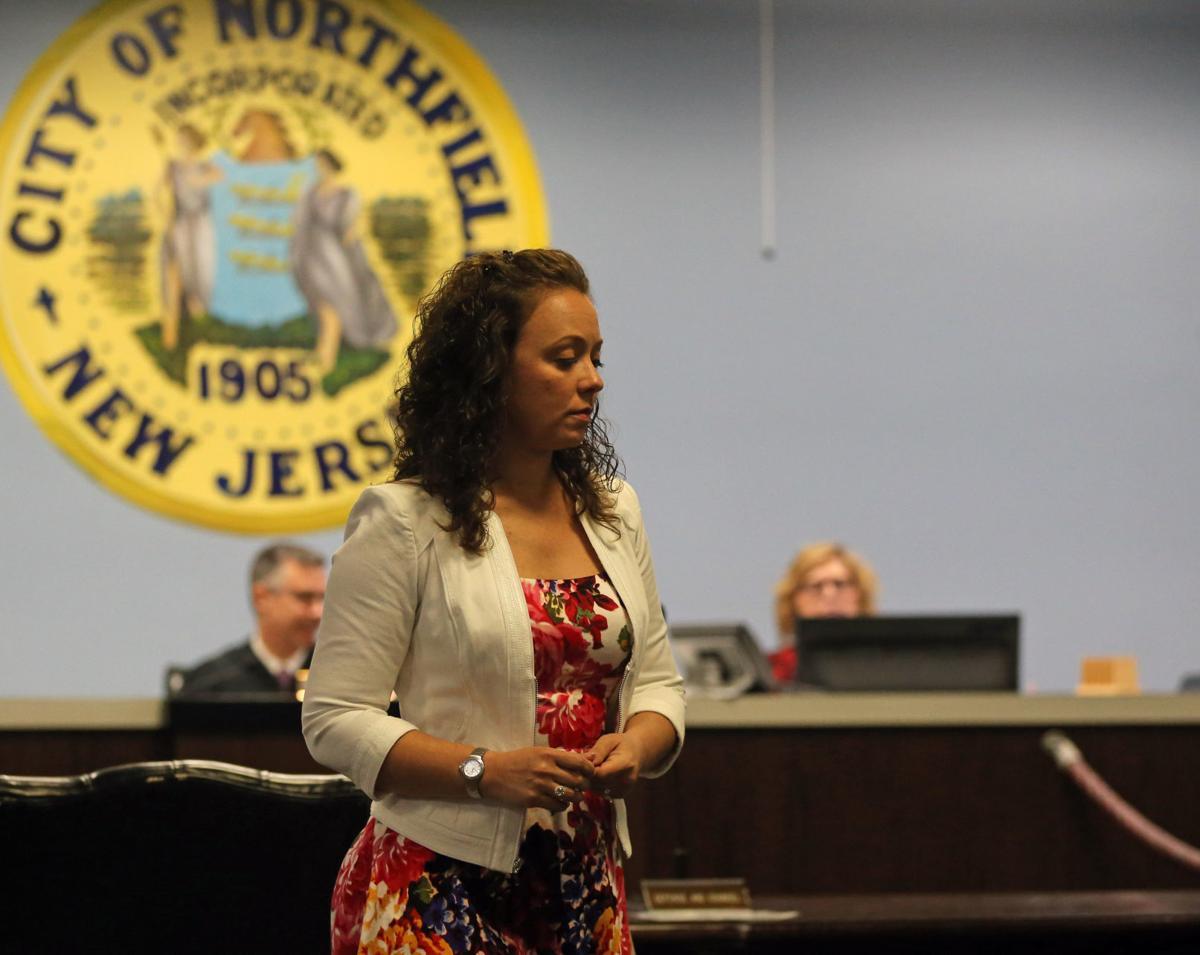 Linwood teacher Kimberly Peschi in court