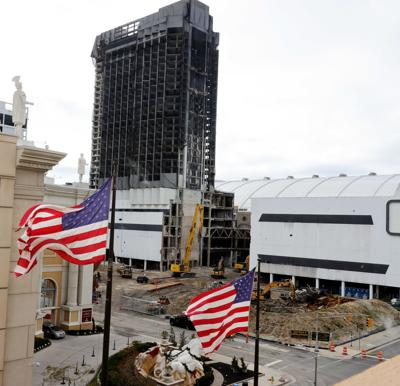 Demolition of Trump Plaza Hotel and Casino