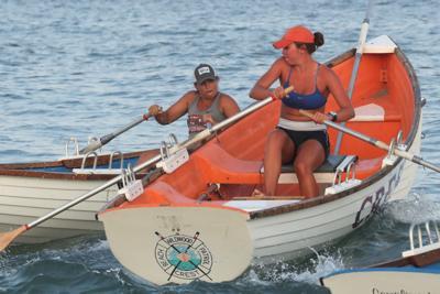 Ventnor women's lifeguard race