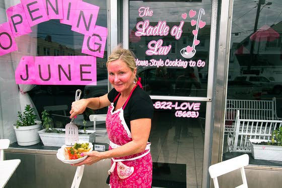 Idea to solve family problem became Ventnor business, the Ladle of Luv