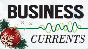 Business Currents holiday online logo