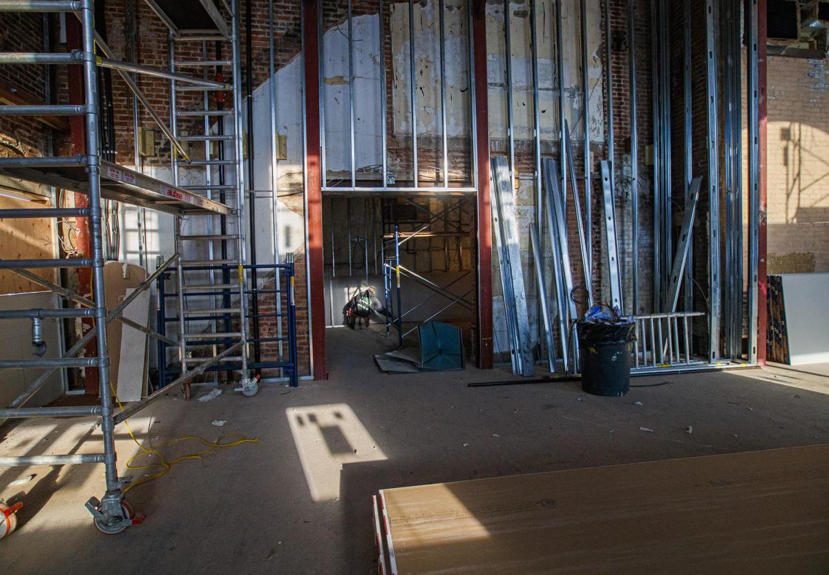 Updated Construction of Ventnor Theater