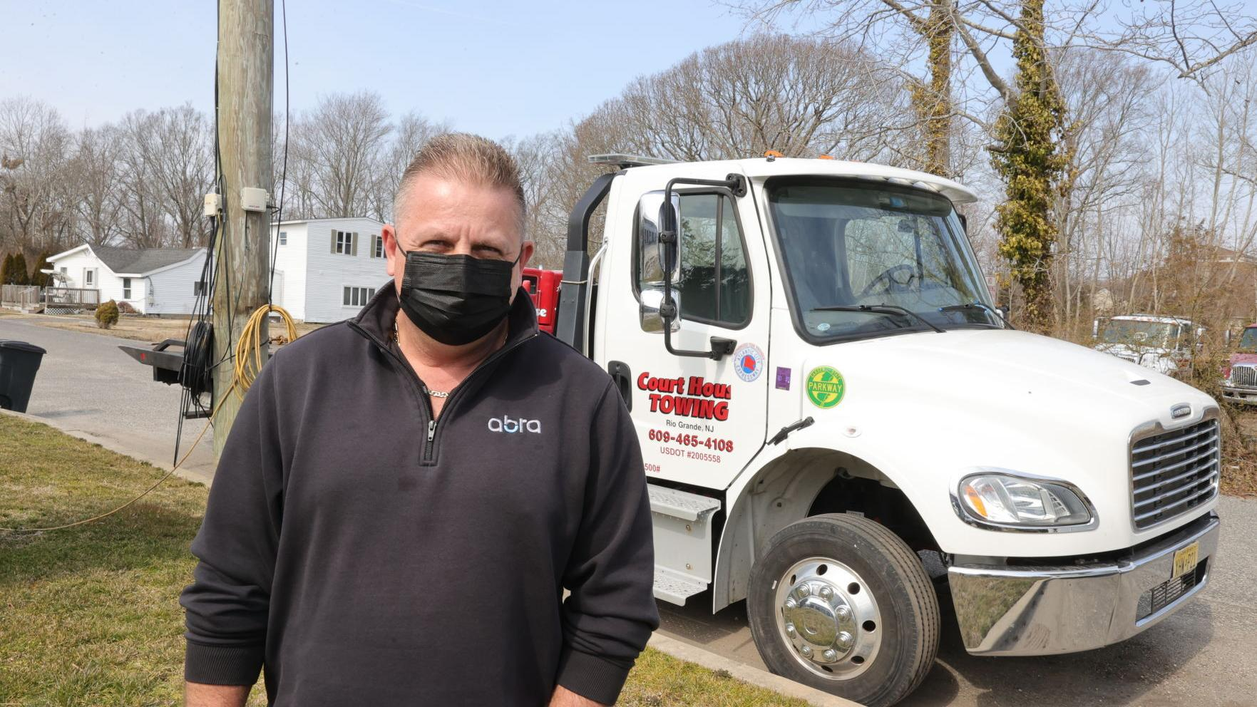 Cape May County towing operator still owed money by Egg Harbor Township