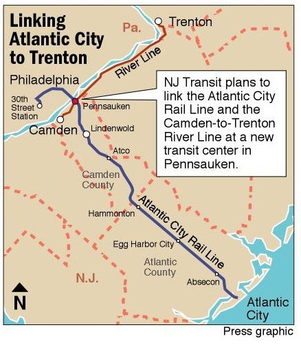 NJ Transit to expand Atlantic City Rail Lines horizons Atlantic