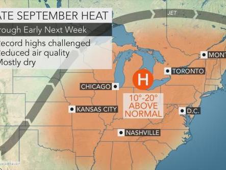 Late September heat, humidity lasts through weekend