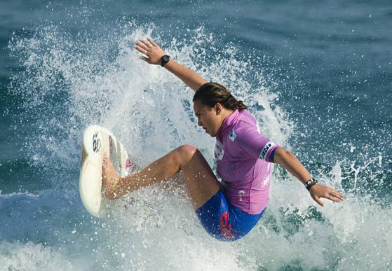 Teen surfing champion Carissa Moore ready to take on the boys