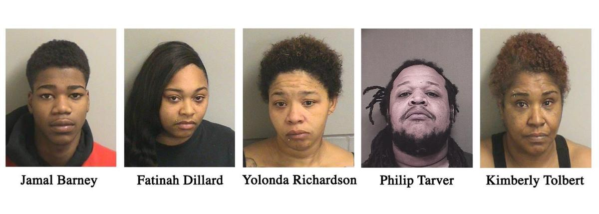 Five arrested in Ocean County drug bust