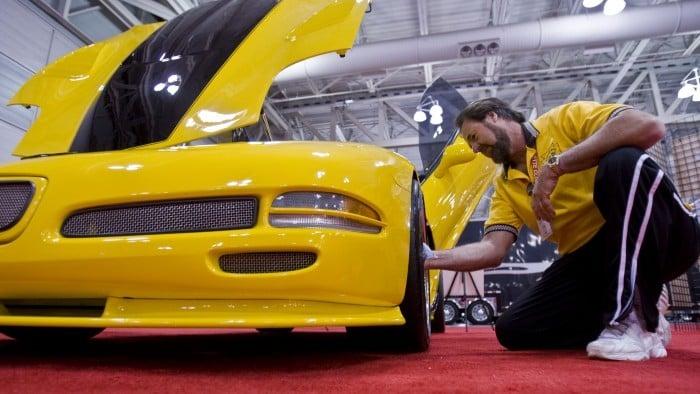 Corvette Lovers Roar Into Atlantic City For Convention Center Event - Atlantic city convention center car show