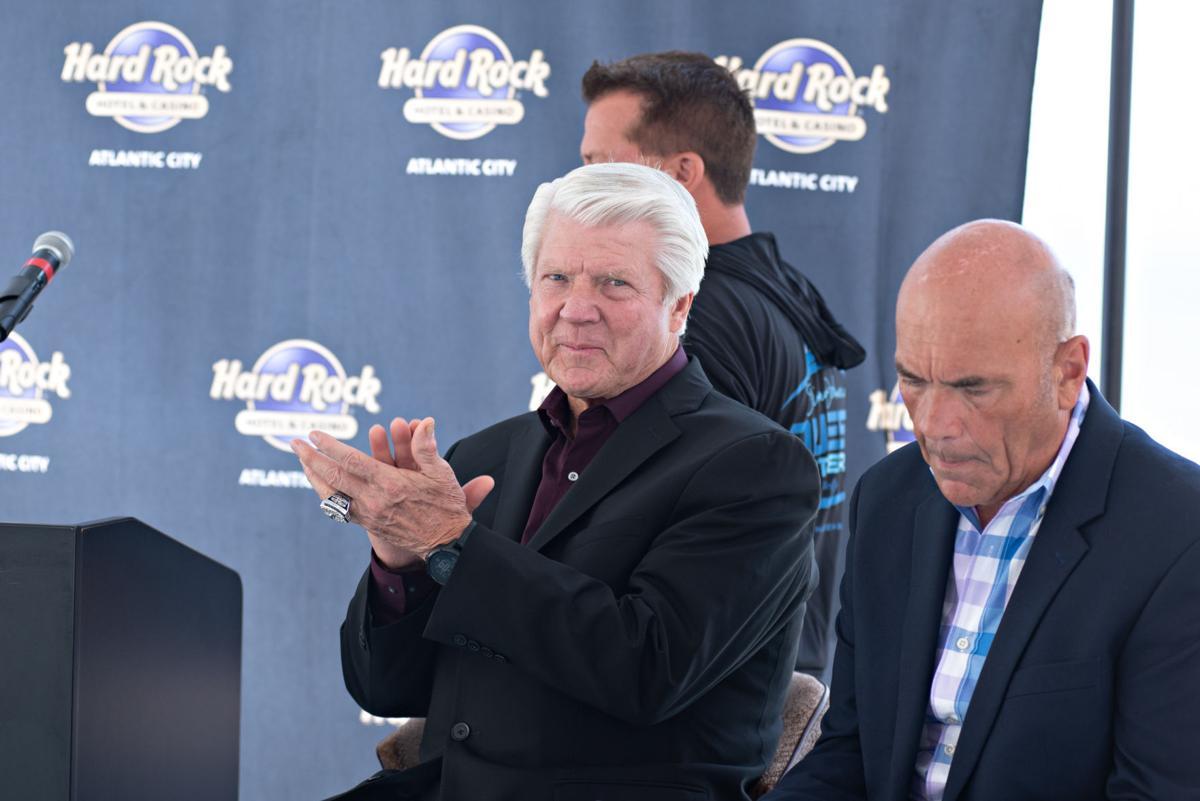 Jimmy Johnson pic at Hard Rock for B1