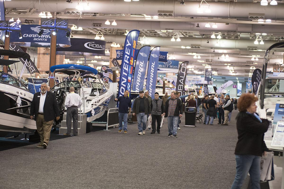 Boat Show Leads Big Weekend For The Atlantic City Convention Center - Atlantic city convention center car show