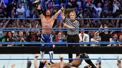 AJ Styles wins WWE Championship