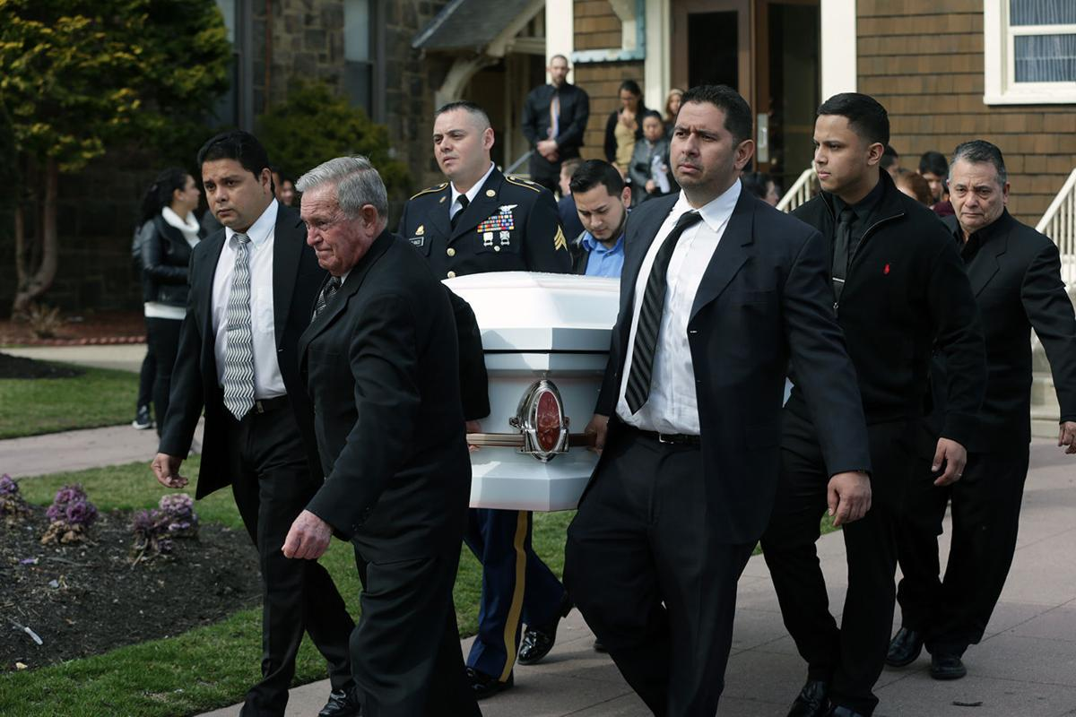 Funeral for Bessy Blanco