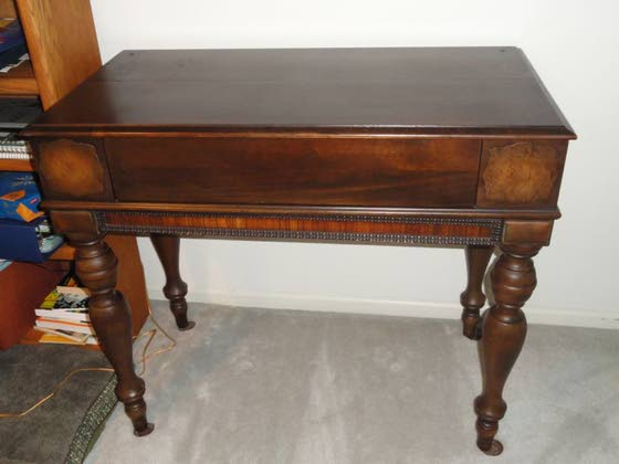Antiques & Collectibles: Spinet desk is furniture with a dual purpose - Antiques & Collectibles: Spinet Desk Is Furniture With A Dual