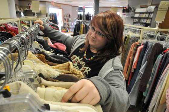 Charity thrift store, customers happy with new Hamilton digs