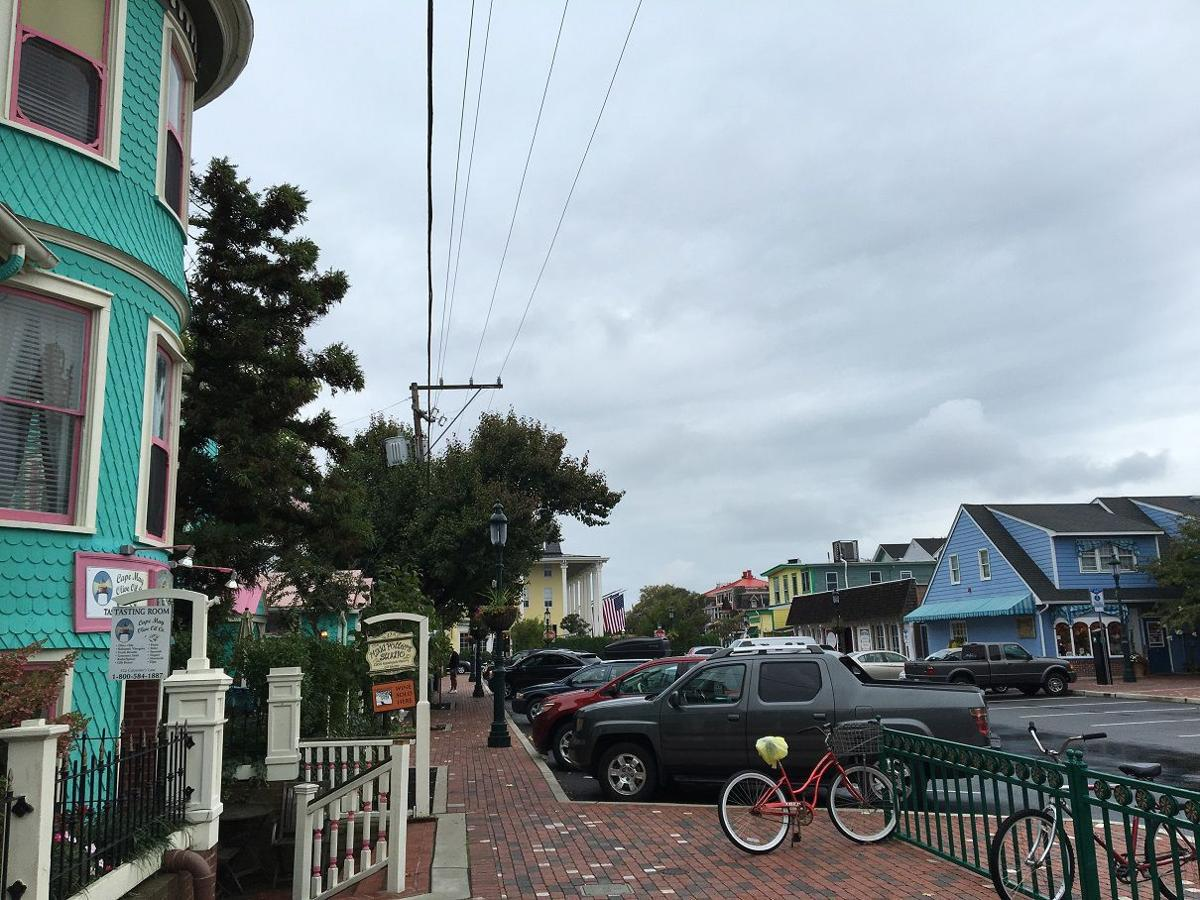 Cloudy in Cape May