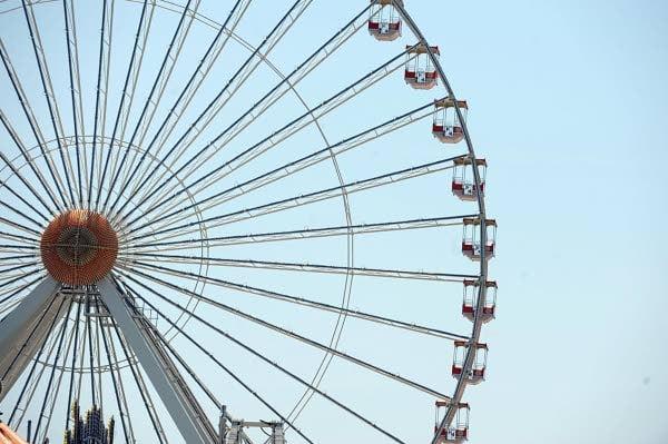 Giant Wheel reopens