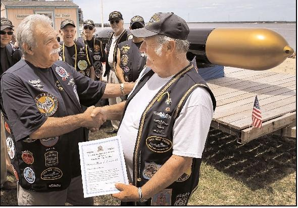 Somers Point submariner inducted into elite club