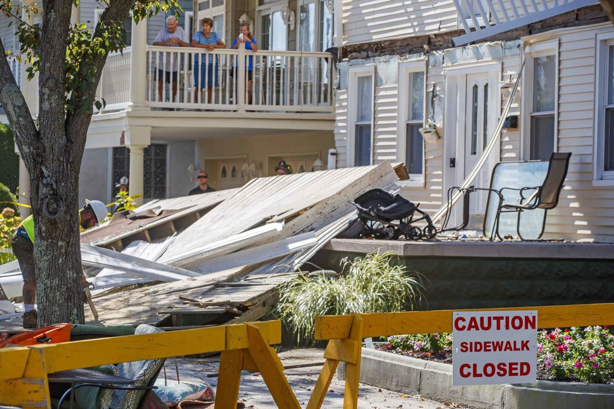 Wildwood balconies collapse