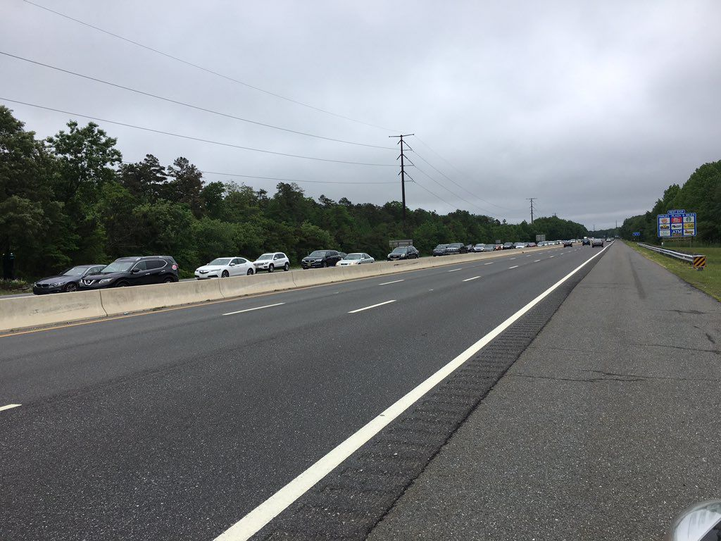2 Mile Garden State Parkway Delays North As Memorial Day Shore Exodus Begins Top Stories