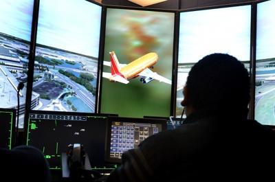 Air-traffic control simulation system takes off at Atlantic