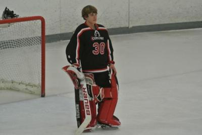 14 Year Old Cape May Court House Goalie Brandon Graf Helps Ice