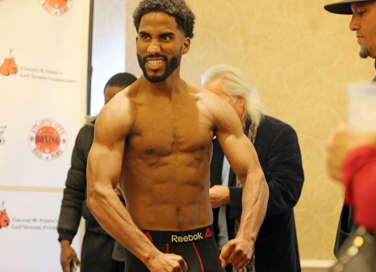 Local Boxers weigh-in for fight