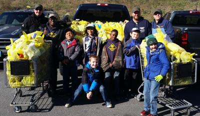 EHT Cub Scout Pack 94 food collection