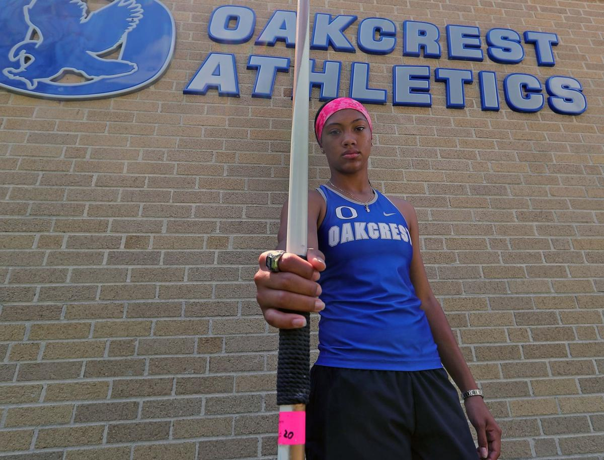 Oakcrest's Brielle Smith is The Press Female Athlete of the Year