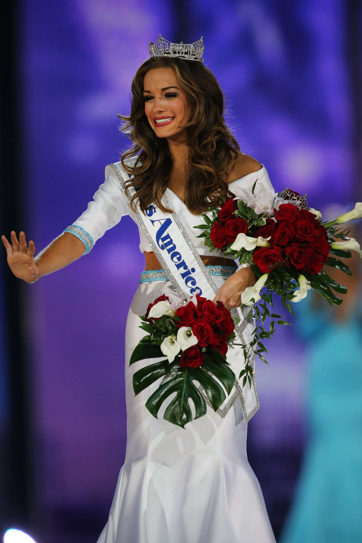Miss Georgia Betty Cantrell wins Miss America 2016 ...