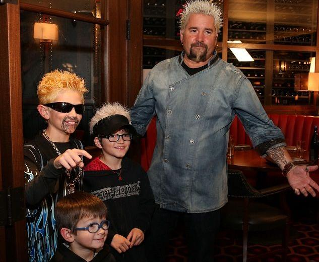 Guy Fieri visited his new restaurant called Guy's Chophouse, Bally's Atlantic City