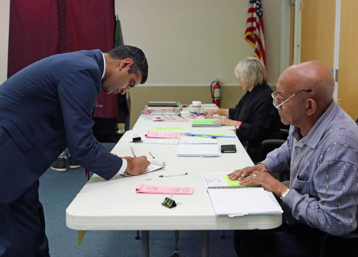Voters in Atlantic County