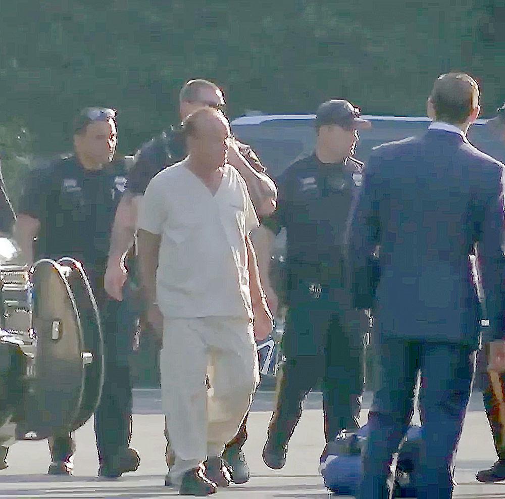 kauffman's arrest