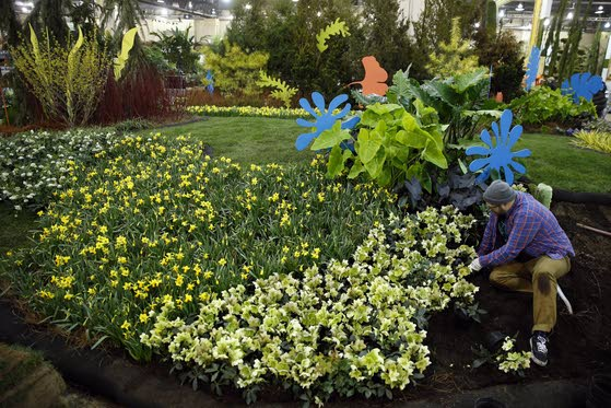 Philly Flower Show opens today, brings a welcome sign of Spring