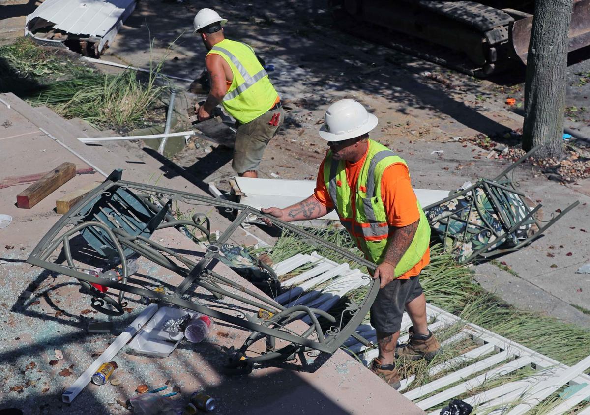 Wildwood balconies collapse