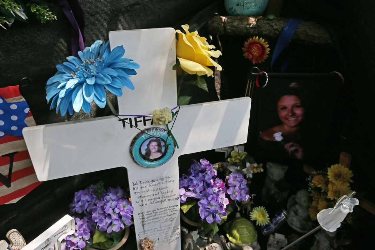 A shrine for Tiffany Valiante