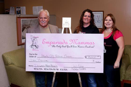 Empanada Mammas use cooking skills to assist Atlantic City Rescue Mission