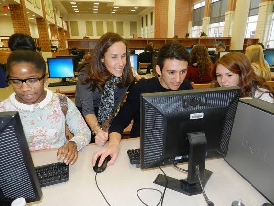 Librarian/Media Specialist Finn chosen as Teacher of the Year at Cedar Creek