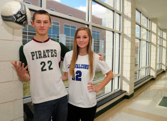 Mays Landing twins set scoring marks in soccer while at different high schools