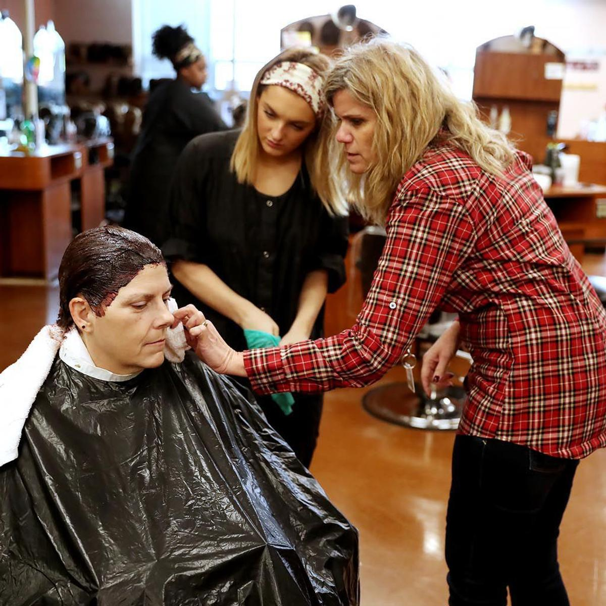 Cosmetology Students Earn License Life