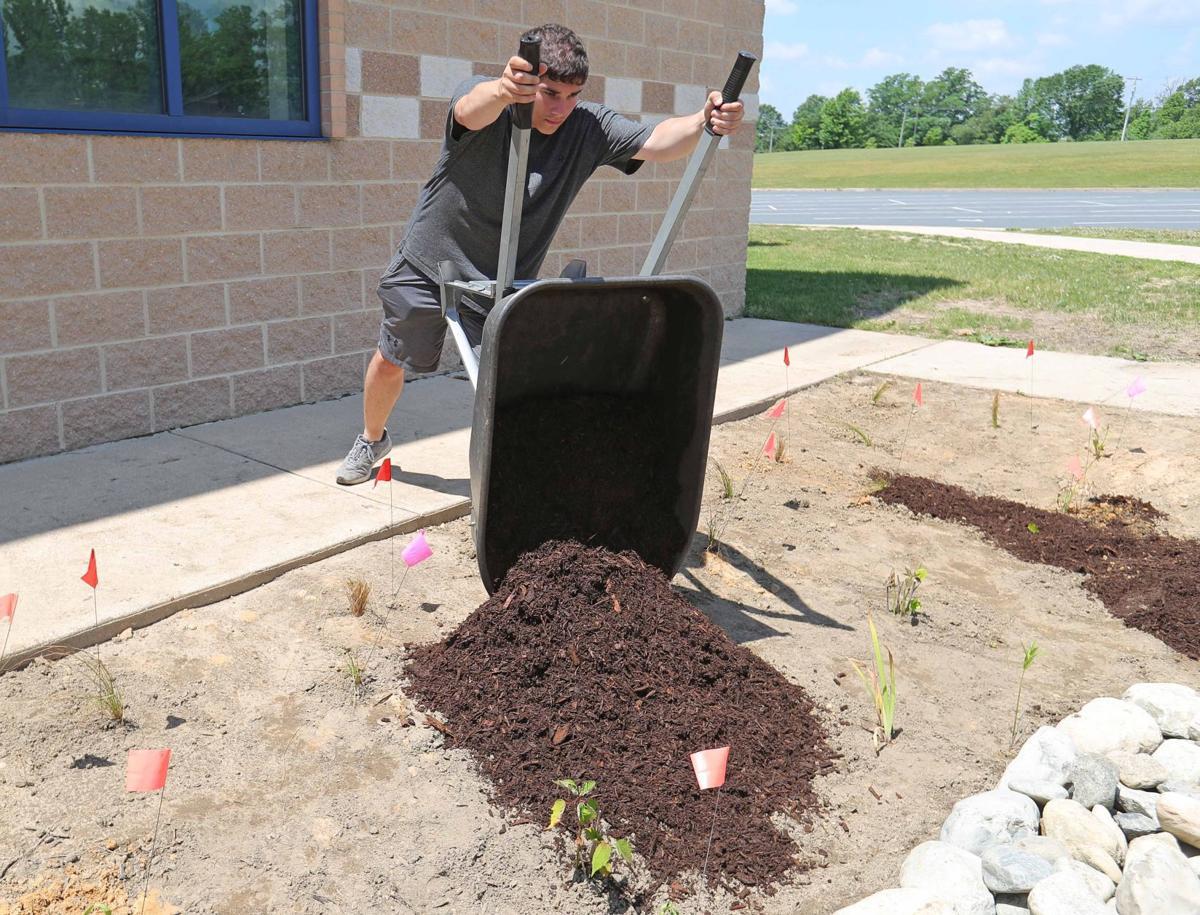 Rain Garden Project at Hammonton High School