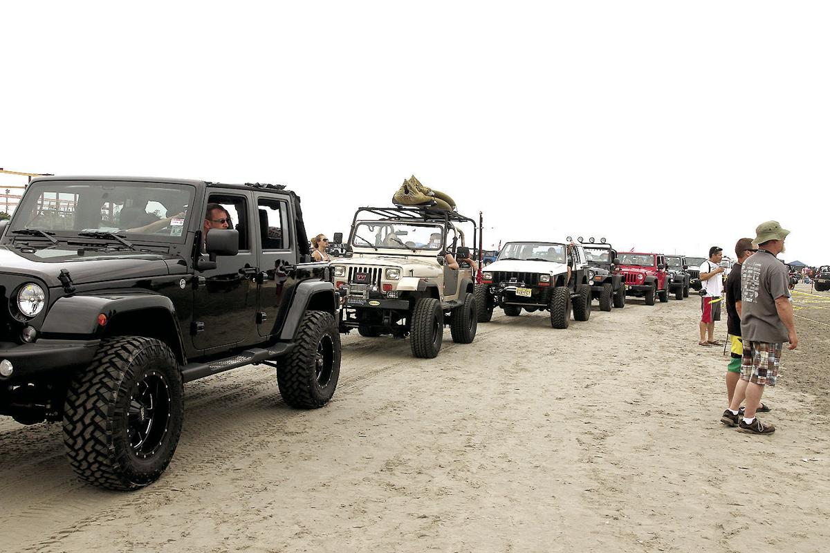 Wildwood Jeep Invasion Offers Off Roading On The Beach