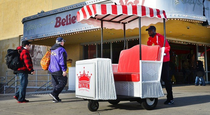 atlantic city rolling chairs get new look to go with their new