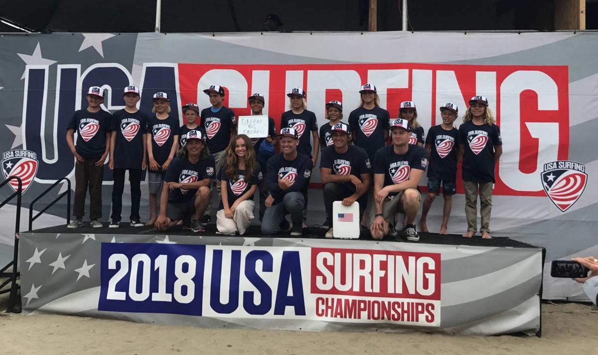 USA Surfing Developmental Team
