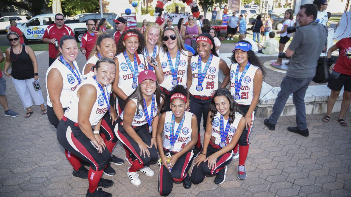 Vineland celebrates its Babe Ruth World Series softball teams