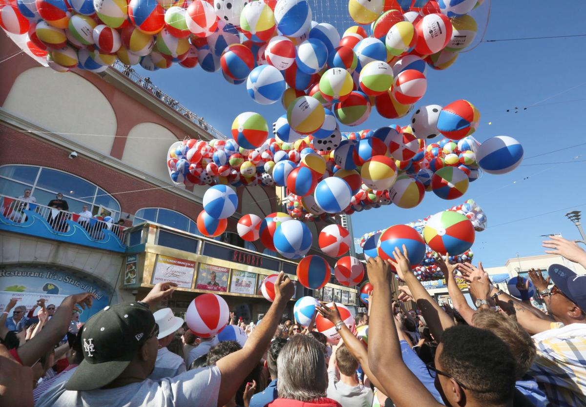 Resorts Beach Ball Drop
