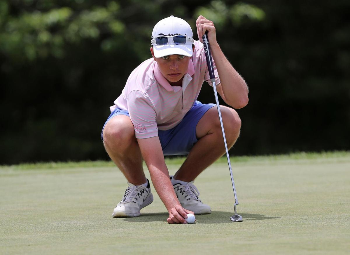 Prep's Drue Nicholas is the Press Golfer of the Year
