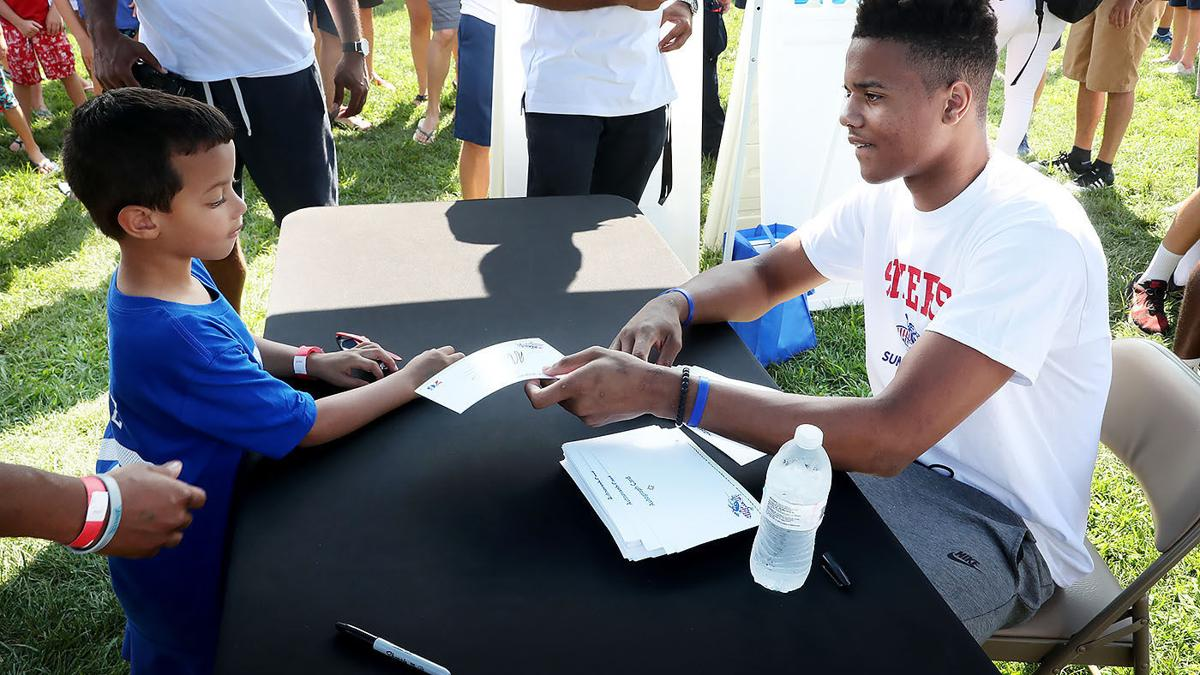 GALLERY: 76ers Summer Shore Tour in Stone Harbor