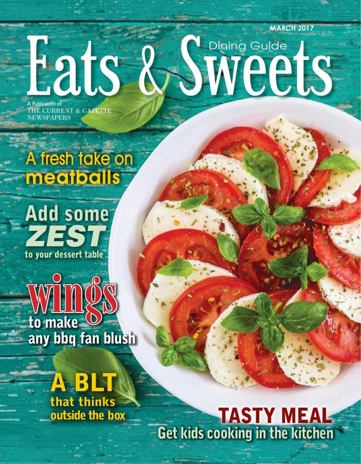 Eats & Sweets March 2017