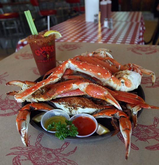 25 Years of Fresh SeafoodCrabby's in Weymouth is all about plentiful crabs