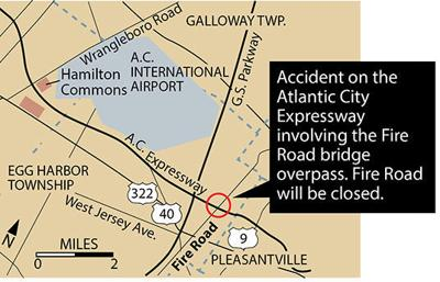 Egg Harbor Township accident map